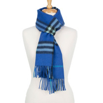 Scarf Blue Check