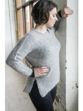 MICHELLE SWEATER LIGHT GREY