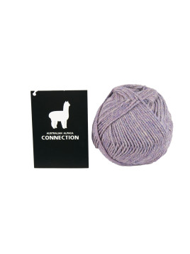 YARN HAND KNITTING 8PLY LIGHT PURPLE MELANGE
